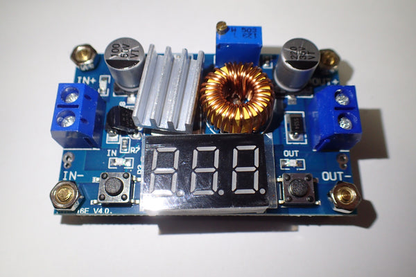 HW-316E DC-DC adjustable voltage regulator step down converter 5A 75W with LED display
