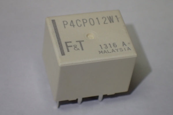 P4CP012W1 12V 25A double relay H-bridge.