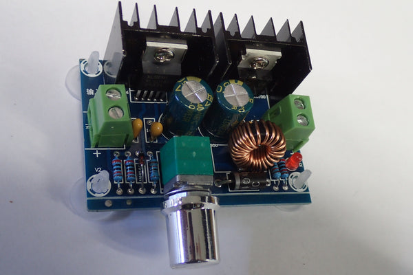 DC-DC, PWM Adjustable 4-40V To 1.25-36V Step Down Board 5A 200W