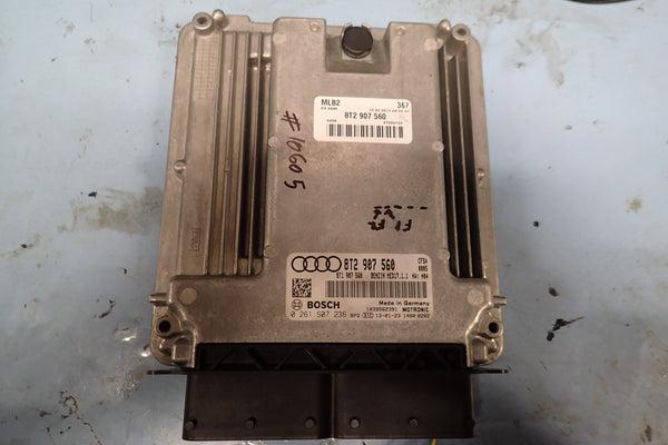 AUDI RS5 ECU repair - Fans constantly on