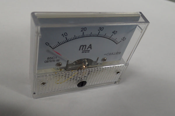 0-50mA DC current meter