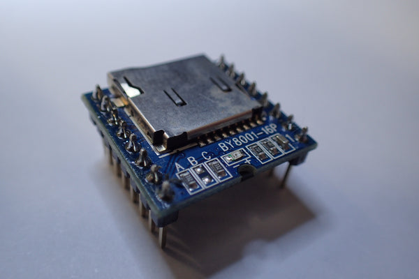 BY8001-16P MP3 player module micro SD