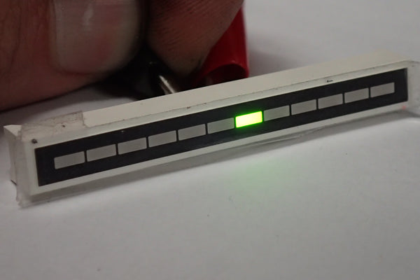 Green Segmented LED bar