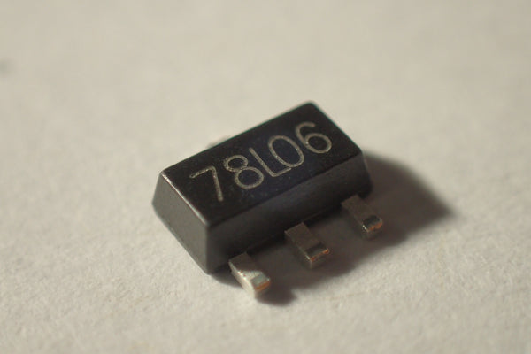 78LO6 SOT89 6V voltage regulator