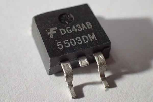 5503DM 25V 50A 80A N Channel Mosfet TO-263, D2PAK, DDPAK
