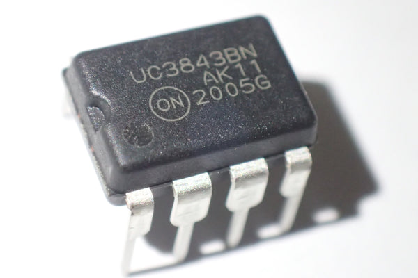 UC3843BN, Current mode PWM controller, DIP-8