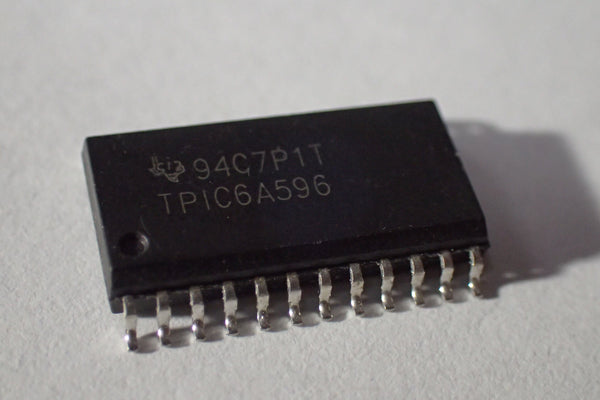 TPIC6A596 94C7P1T, 8 Bit Shift Register, 350mA, LED driver, DSO-24