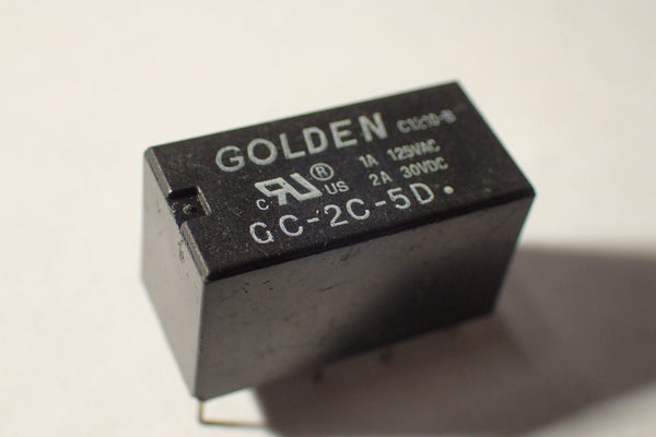 Relay DPDT GC-2C-5D 5V PCB mount 5V