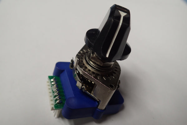 Rotary switch encoder with dial DCRS-01J