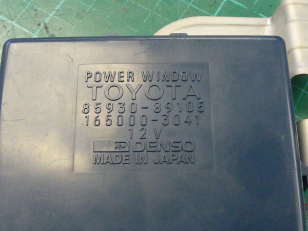 Toyota Power Window  Control - Repair Service