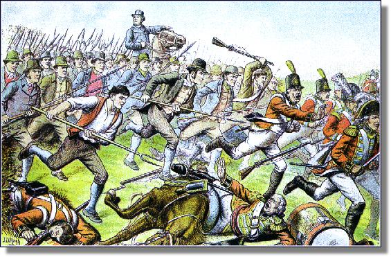 May 27th 1798, Battle Of Oulart Hill