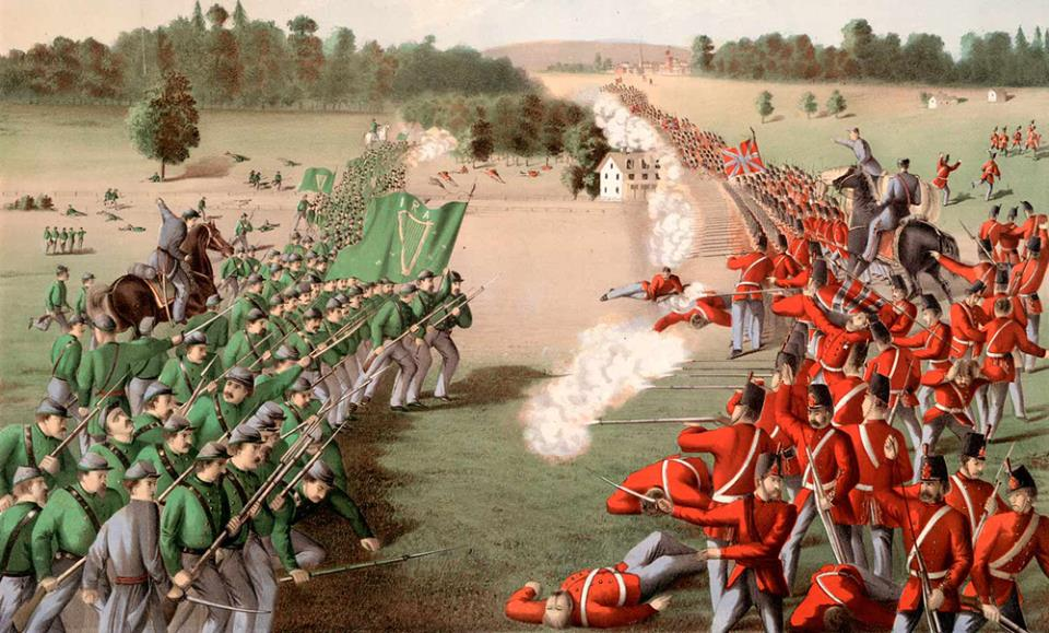 Battle of Ridgeway & Battle Of Fort Erie June 2nd 1866
