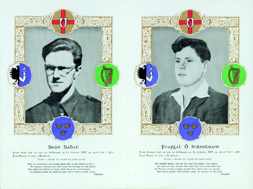 Remembering Vols Sean South & Feargal O'Hanlon