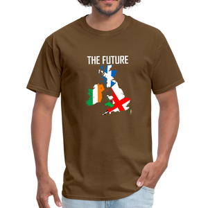 Brexit - The Future Men's T-Shirt - brown