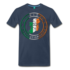 Irish Logo Men's Premium T-Shirt - navy