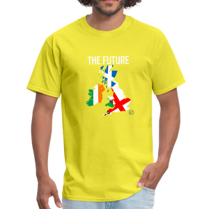 Brexit - The Future Men's T-Shirt - yellow