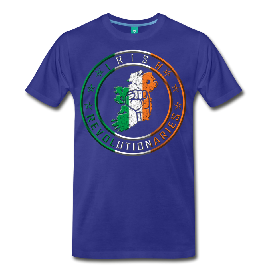 Irish Logo Men's Premium T-Shirt - royal blue