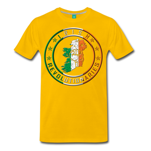 Irish Logo Men's Premium T-Shirt - sun yellow