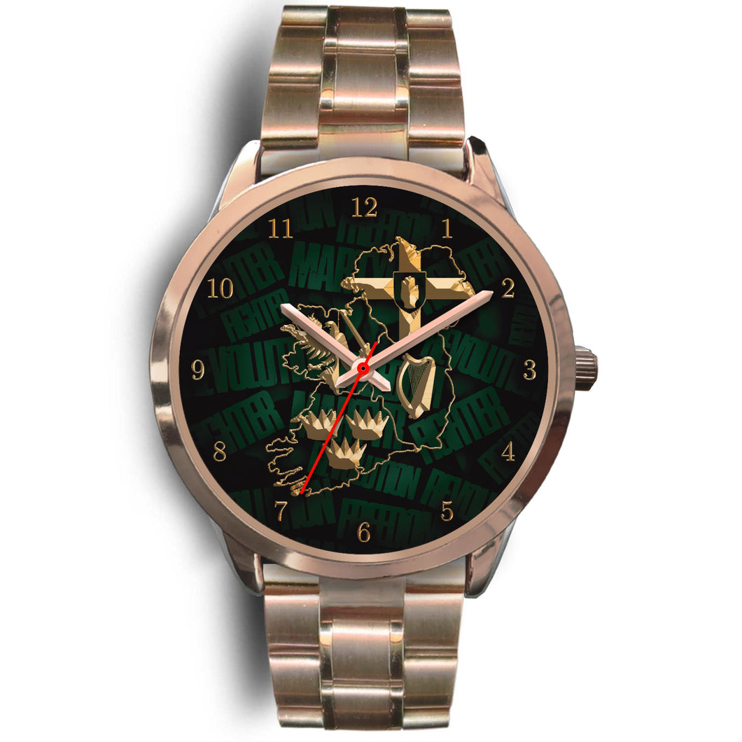 Rose Gold Four Provinces Unisex Watch Series I