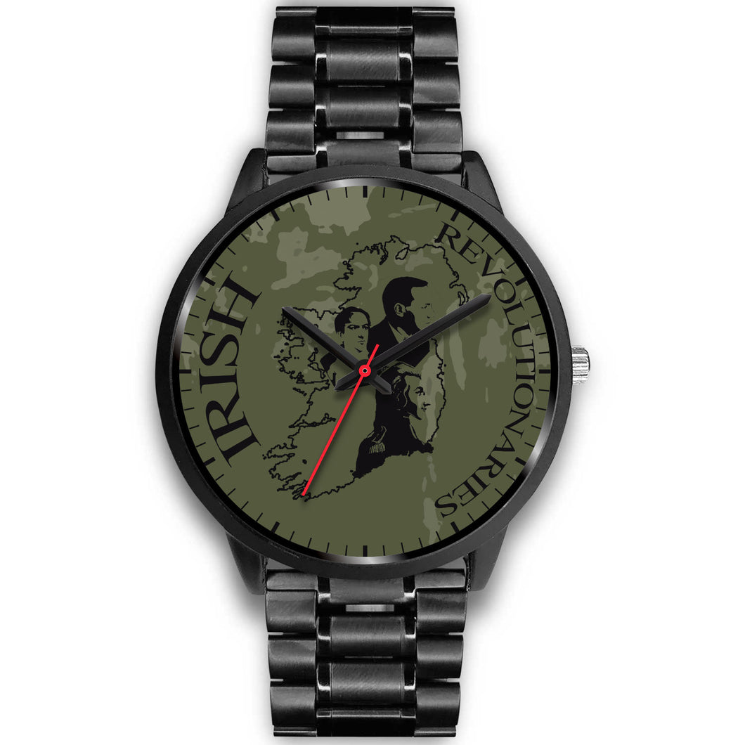 Black Irish Revolutionaries Unisex Watch Series III