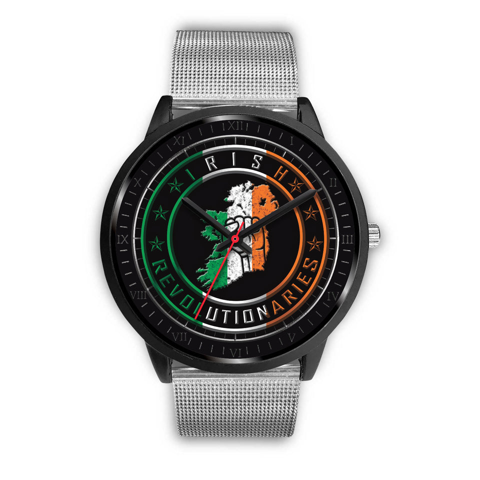 Irish Revolutionaries Logo Black Unisex Watch