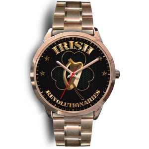 Rose Gold Shamrock  Unisex Watch Series I