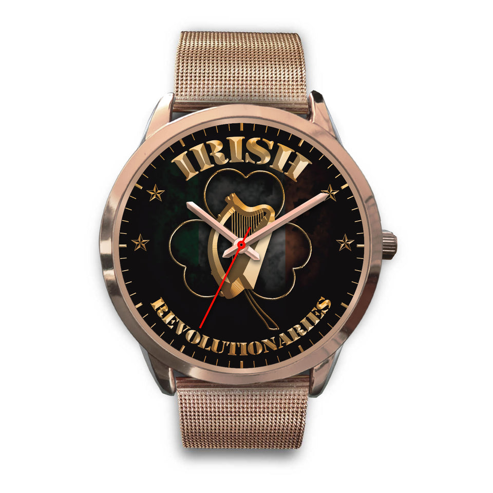 Rose Gold Shamrock Unisex Watch Series II