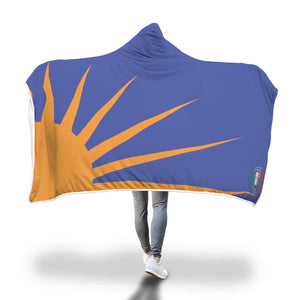 Fenian Sunburst Hooded Blanket