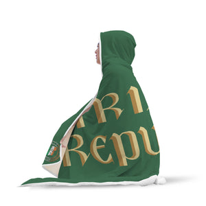 Irish Republic Hooded Blanket