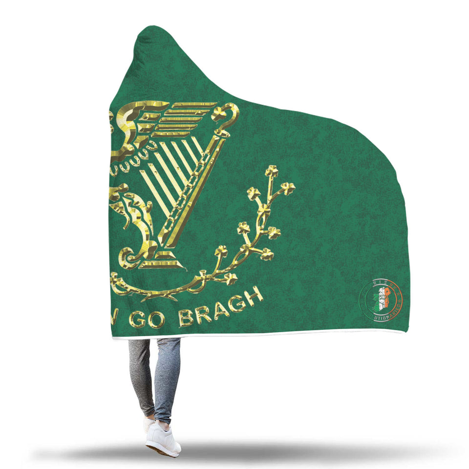 Erin Go Bragh Hooded Blanket