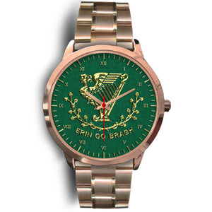 Erin Go Bragh Rose Gold Unisex Watch