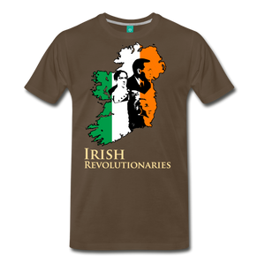 The Irish Trinity Men's Premium T-Shirt - sun yellow
