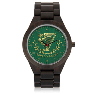 ERIN GO BRAGH Wooden Watch