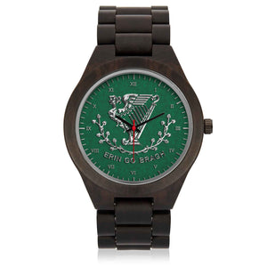 Erin Go Bragh Wooden Watch II