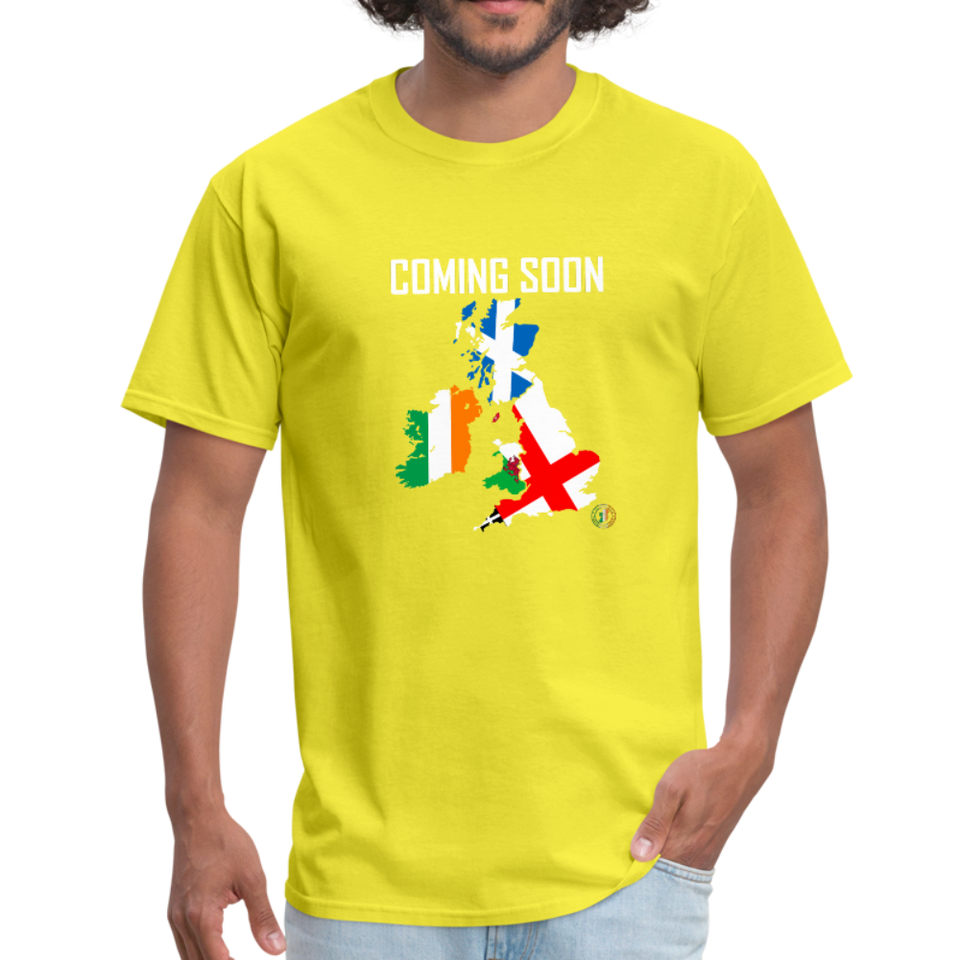 Brexit T-Shirt - yellow