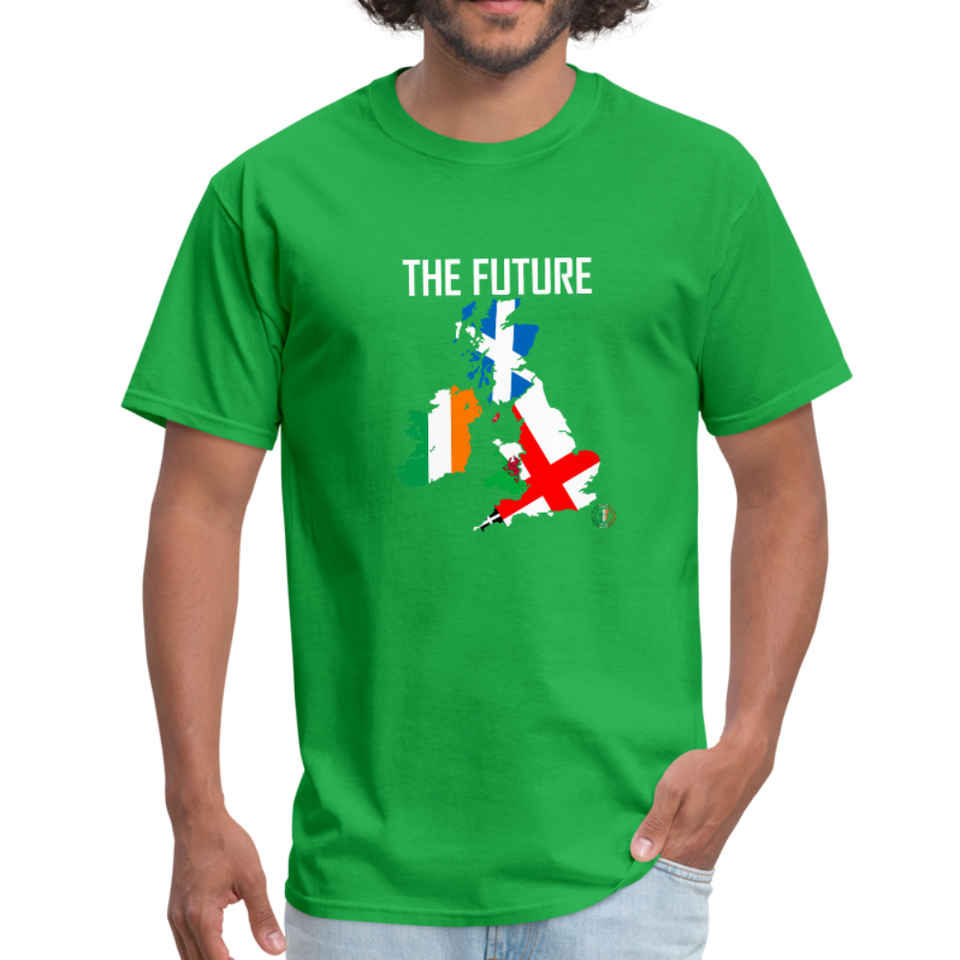 Brexit - The Future Men's T-Shirt - bright green