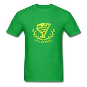 Erin Go Bragh Premium Men's T-Shirt - bright green