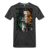 Padraig Pearse Men's Premium T-Shirt - charcoal gray