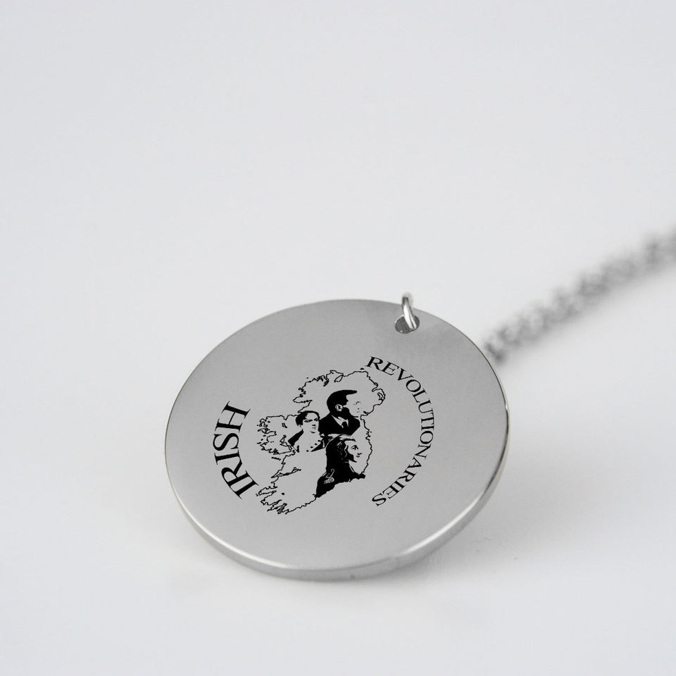 Irish Revolutionary Pendant & Chain