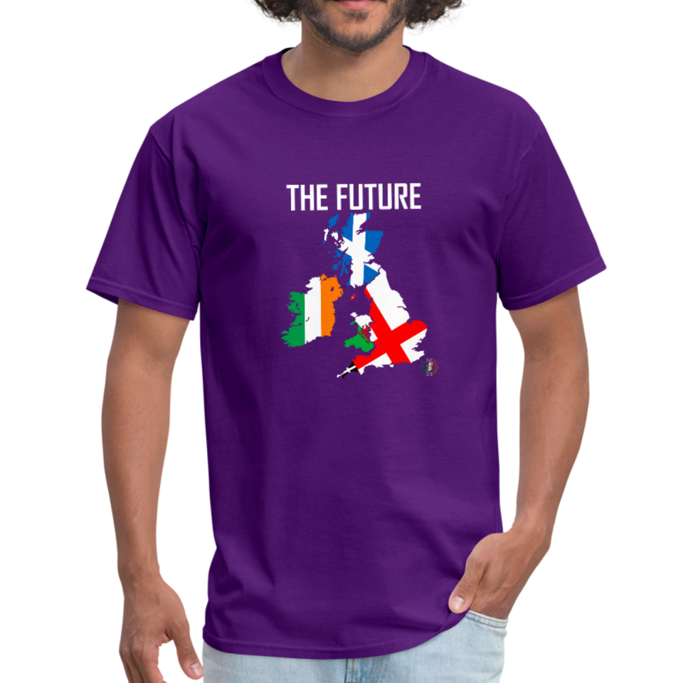 Brexit - The Future Men's T-Shirt - purple