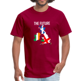 Brexit - The Future Men's T-Shirt - dark red