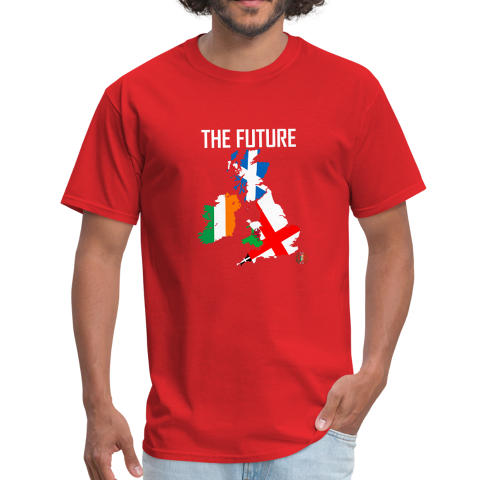Brexit - The Future Men's T-Shirt - red