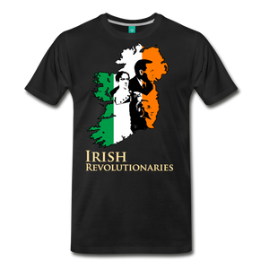 The Irish Trinity Men's Premium T-Shirt - black