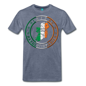 Irish Logo Men's Premium T-Shirt - heather blue