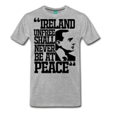Padraig Pearse Men's Premium T-Shirt - heather gray