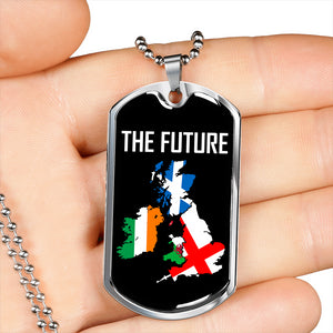 Brexit - The Future Dog Tag