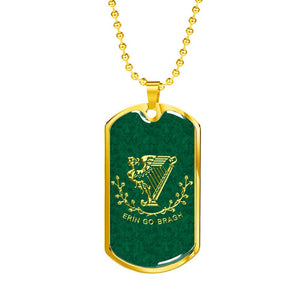 Erin Go Bragh Dog Tag
