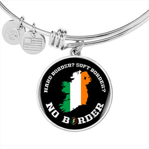 No Border In Ireland Luxury Circle Bangle Series II