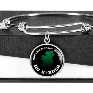 No Border In Ireland Luxury Circle Bangle Series I