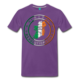Irish Logo Men's Premium T-Shirt - purple